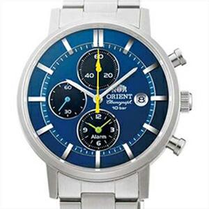 【3年延長保証】 ORIENT オリエント 正規品 腕時計 WV0071TY メンズ STYLISH AND SMART スタイリッシュ&スマート クロノグラフ