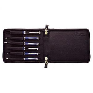 Pelikan ペリカン 筆記具 TGX-6 レザーケース 6本用