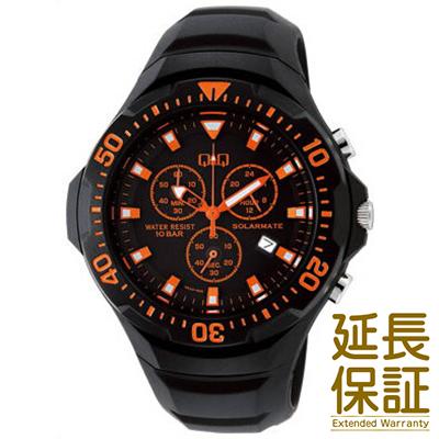 【国内正規品】Q&Q キュー&キュー 腕時計 CITIZEN シチズン CBM QQ H034-005 メンズ SOLARMATE ソーラーメイト クロノグラフ ソーラー