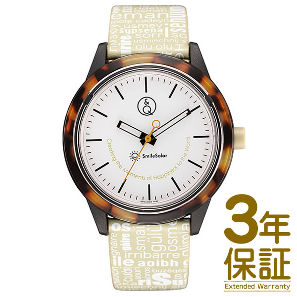 【正規品】Q&Q Smile Solar キューアンドキュー スマイルソーラー Series 007 腕時計 シチズン QQ RP24-005 メンズ