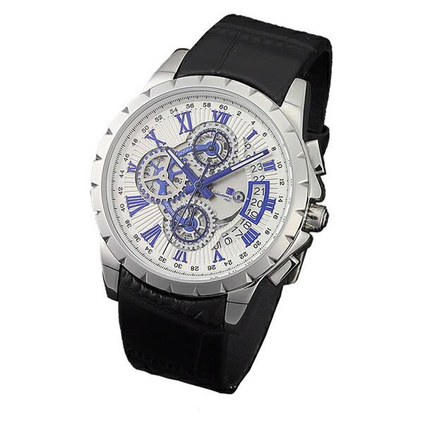 【正規品】SALVATORE MARRA サルバトーレ・マーラ 腕時計 SM13119S-SSWHBL メンズ クロノグラフ