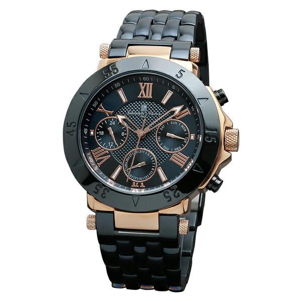 【正規品】SALVATORE MARRA サルバトーレ・マーラ 腕時計 SM14118-PGNV メンズ