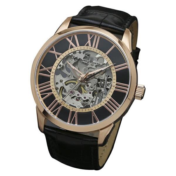 【正規品】SALVATORE MARRA サルバトーレ・マーラ 腕時計 SM16101-PGBK メンズ