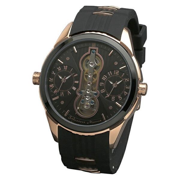 【正規品】SALVATORE MARRA サルバトーレ・マーラ 腕時計 SM18113-PGBK メンズ
