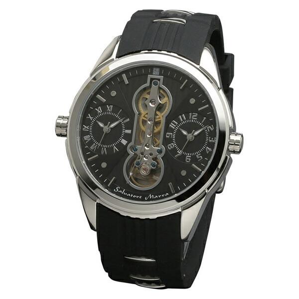 【正規品】SALVATORE MARRA サルバトーレ・マーラ 腕時計 SM18113-SSBK メンズ