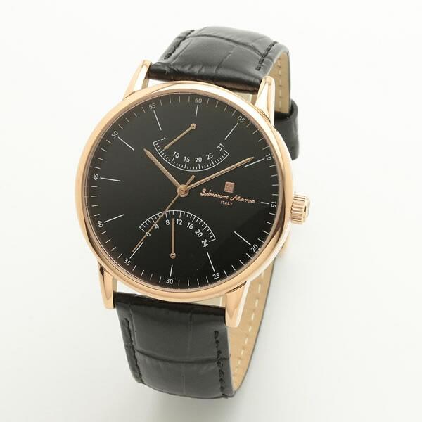 【正規品】SALVATORE MARRA サルバトーレ・マーラ 腕時計 SM19105-PGBK メンズ