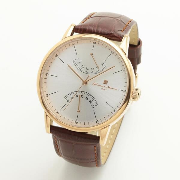【正規品】SALVATORE MARRA サルバトーレ・マーラ 腕時計 SM19105-PGSV メンズ