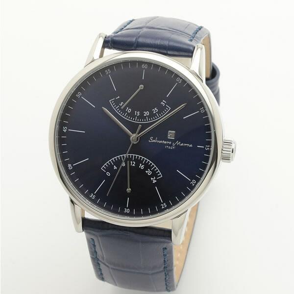 【正規品】SALVATORE MARRA サルバトーレ・マーラ 腕時計 SM19105-SSBL メンズ