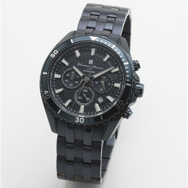 【楽天スーパーセール】 【正規品】SALVATORE MARRA サルバトーレ・マーラ 腕時計 SM19113-BLBL メンズ スタンダードモデル クオーツ, シャツステーション fa756db9