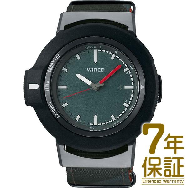 【正規品】WIRED ワイアード 腕時計 AGAB405 メンズ WW タイムコネクト クオーツ