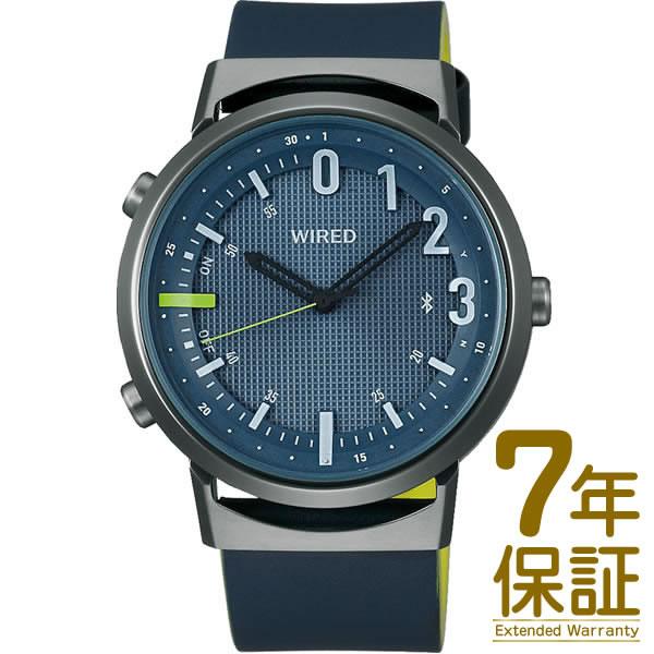 【正規品】WIRED ワイアード 腕時計 AGAB408 メンズ WW タイムコネクト クオーツ