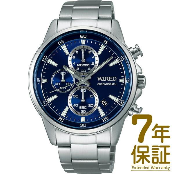 【国内正規品】WIRED ワイアード 腕時計 SEIKO セイコー AGAT423 メンズ クロノグラフ クオーツ