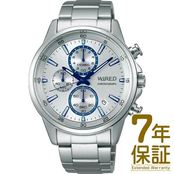 【国内正規品】WIRED ワイアード 腕時計 SEIKO セイコー AGAT425 メンズ クロノグラフ クオーツ