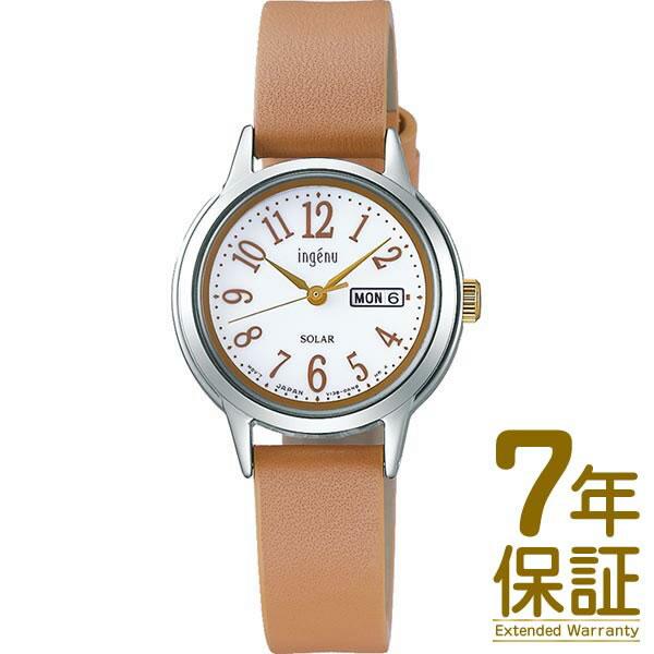 【国内正規品】ALBA アルバ 腕時計 SEIKO セイコー AHJD109 レディース ingenu アンジェーヌ ソーラー