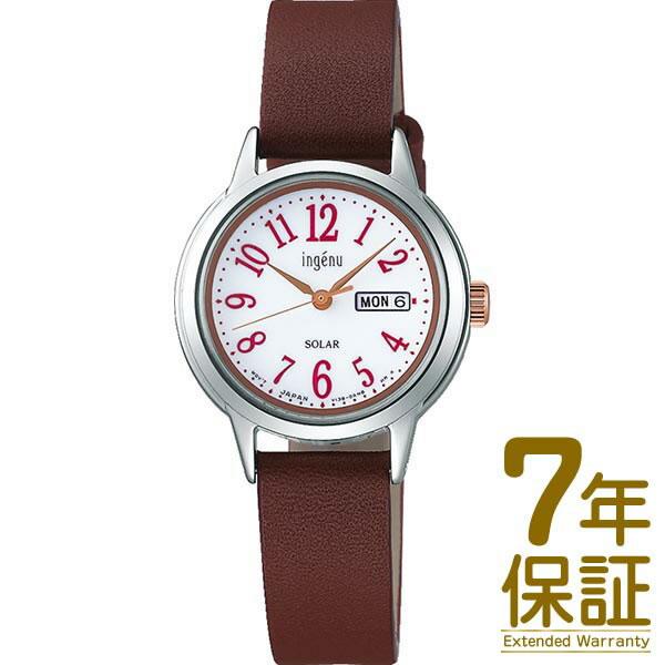【国内正規品】ALBA アルバ 腕時計 SEIKO セイコー AHJD110 レディース ingenu アンジェーヌ ソーラー