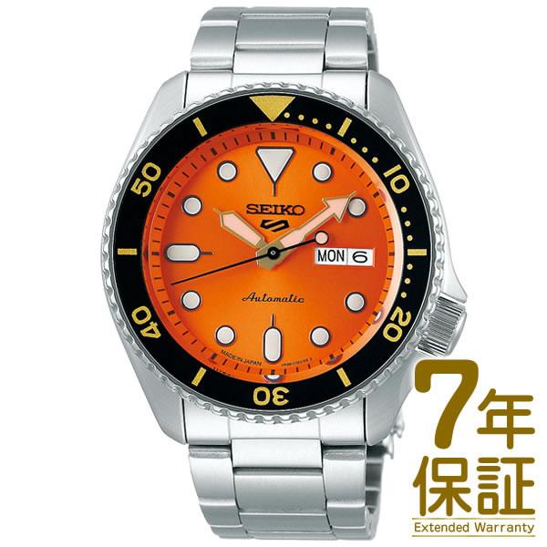 【予約受付中】【09/08~発送予定】【正規品】SEIKO セイコー 腕時計 SBSA009 メンズ Seiko 5 Sports セイコーファイブ スポーツ Sports Style メカニカル 自動巻(手巻つき)