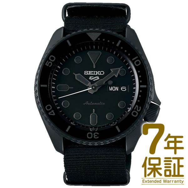 【予約受付中】【09/08~発送予定】【正規品】SEIKO セイコー 腕時計 SBSA025 メンズ Seiko 5 Sports セイコーファイブ スポーツ Street Style メカニカル 自動巻(手巻つき)