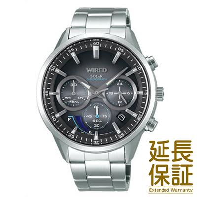 【国内正規品】WIRED ワイアード 腕時計 SEIKO セイコー AGAD095 メンズ ソーラー