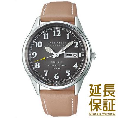 【国内正規品】MACKINTOSH PHILOSOPHY マッキントッシュ フィロソフィー 腕時計 SEIKO セイコー FBZD987 メンズ ソーラー