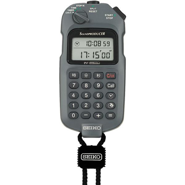 【国内正規品】SEIKO セイコー 腕時計 SVAX001 ユニセックス サウンドプロデューサー ストップウォッチ