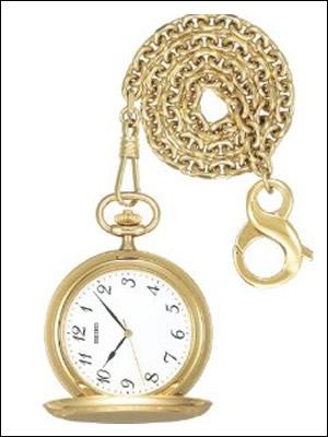 【レビュー記入確認後10年保証】SEIKO セイコー クロック SAPM002 ユニセックス ポケットウォッチ 懐中時計