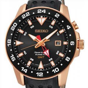 海外SEIKO 海外セイコー 腕時計 SUN028P1 メンズ KINETIC キネティック