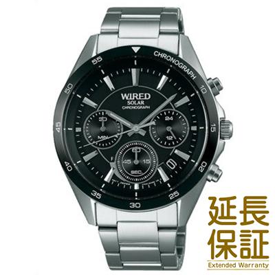 【国内正規品】WIRED ワイアード 腕時計 SEIKO セイコー AGAD087 メンズ ソーラー