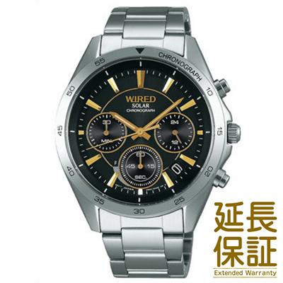 【国内正規品】WIRED ワイアード 腕時計 SEIKO セイコー AGAD089 メンズ ソーラー
