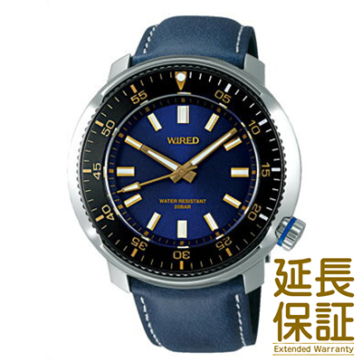 【国内正規品】WIRED ワイアード 腕時計 SEIKO セイコー AGAJ407 メンズ クオーツ