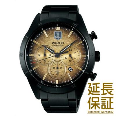 【国内正規品】WIRED ワイアード 腕時計 SEIKO セイコー AGAT717 メンズ 【国内正規品】WIRED×JUSTICE LEAGUE限定モデル