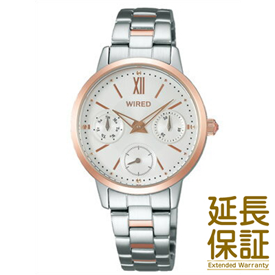 【レビュー記入確認後10年保証】ワイアード WIRED セイコー 腕時計 SEIKO 時計 正規品 AGET406 レディース クオーツ