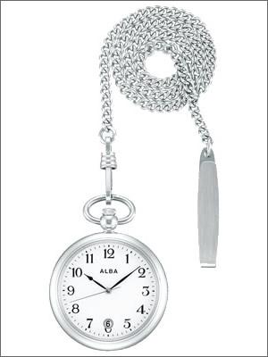 【レビュー記入確認後10年保証】アルバ ALBA セイコー 腕時計 SEIKO 時計 正規品 AQGK447 ユニセックス ポケットウオッチ