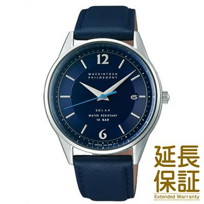 【国内正規品】MACKINTOSH PHILOSOPHY マッキントッシュ フィロソフィー 腕時計 SEIKO セイコー FBZD990 メンズ ソーラー
