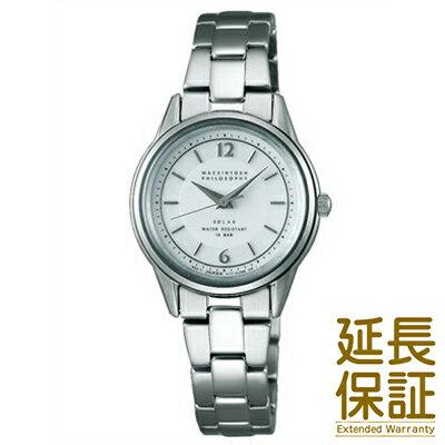 【国内正規品】MACKINTOSH PHILOSOPHY マッキントッシュ フィロソフィー 腕時計 SEIKO セイコー FDAD992 レディース ソーラー