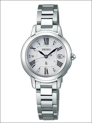 【正規品】SEIKO セイコー 腕時計 SSQW035 レディース LUKIA ルキア ソーラー