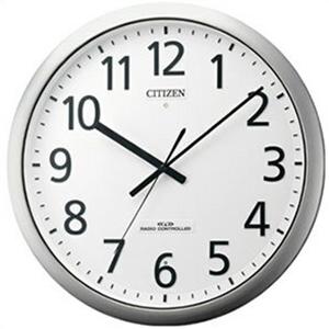 【正規品】リズム時計 クロック CITIZEN シチズン 8MY484-019 掛時計 電波時計 パルフィス484