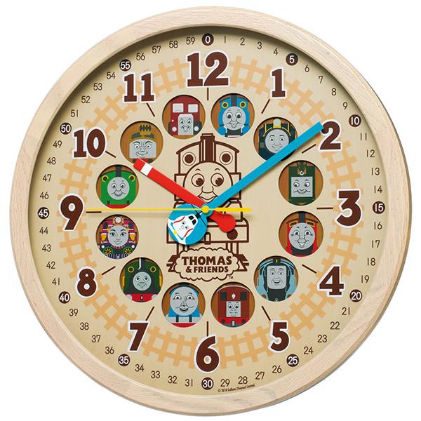 【正規品】SEIKO セイコー クロック 120サイズ CQ221B きかんしゃトーマス 電波掛け時計