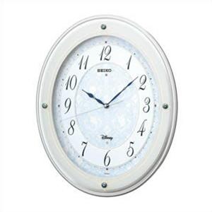 SEIKO セイコー クロック FS502W DISNEY×SEIKO ディズニー 電波掛時計