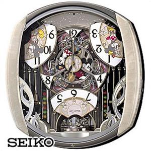 【正規品】SEIKO セイコー クロック FW563A キャラクタークロック ディズニータイム ミッキー&フレンズ掛時計