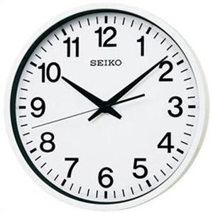 【正規品】SEIKO セイコー クロック GP201W 電波掛け時計 GPS衛星 大型