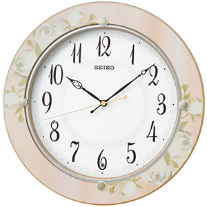 SEIKO セイコー クロック KX220P 電波 掛時計 スタンダード