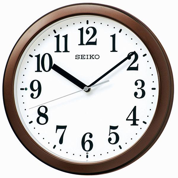 レビュー記入確認後2年保証 注目ブランド 送料無料 一部地域を除く 正規品 SEIKO セイコー スタンダード クロック 掛時計 贈り物 KX256B 電波時計