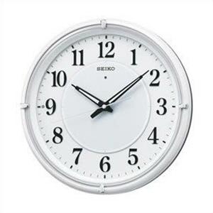 【正規品】SEIKO セイコー クロック KX393W 電波時計 掛時計 ファンライトNEO