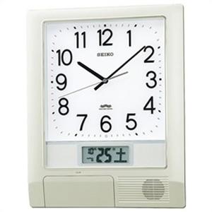 【正規品】SEIKO セイコー クロック PT201S 掛け時計 電波時計