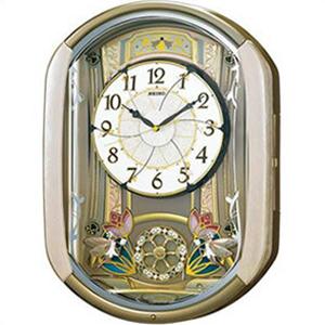 【正規品】SEIKO セイコー クロック RE567G 掛け時計 電波時計