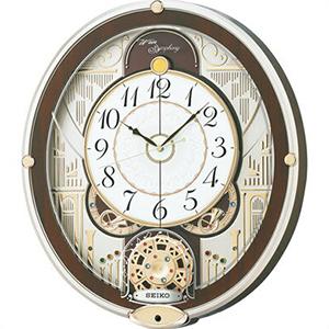 【正規品】SEIKO セイコー クロック RE577B からくり時計 電波