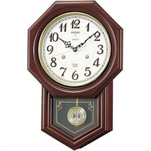 【正規品】SEIKO セイコー クロック RQ205B 掛け時計 電波時計 チャイム&ストライク