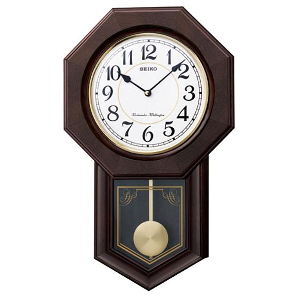 【正規品】SEIKO セイコー クロック RQ325B スタンダード掛時計