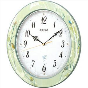 【正規品】SEIKO セイコー クロック RX214M 電波 掛時計 ナチュラルスタイル