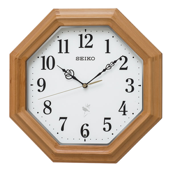 【正規品】SEIKO セイコー クロック RX216B 電波掛け時計 報時付